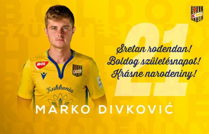 Narodeniny: Marko Divković má dnes 21!