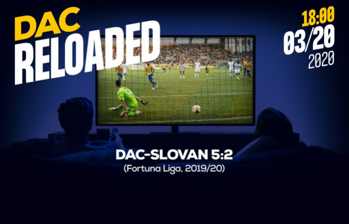 Link na sledovanie zápasu DAC-Slovan (5:2)