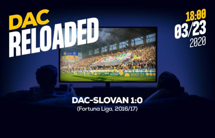 Link na sledovanie zápasu DAC-Slovan (1:0)