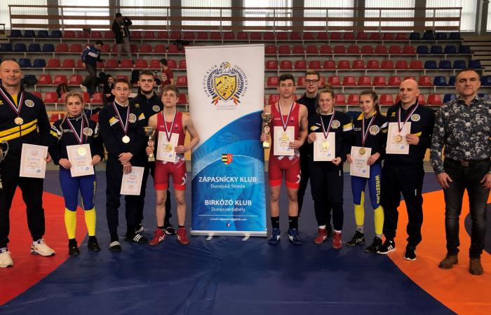Päť zlatých medailí na slovenských majstrovstvách juniorov vo voľnom štýle!