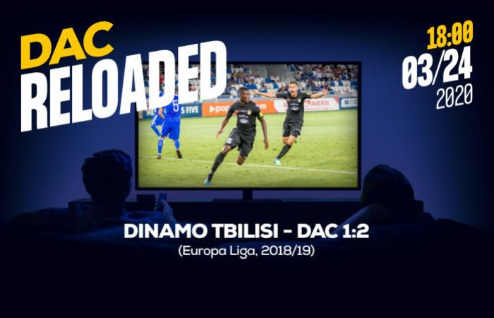 Link na sledovanie zápasu Dinamo Tbilisi-DAC (1:2)