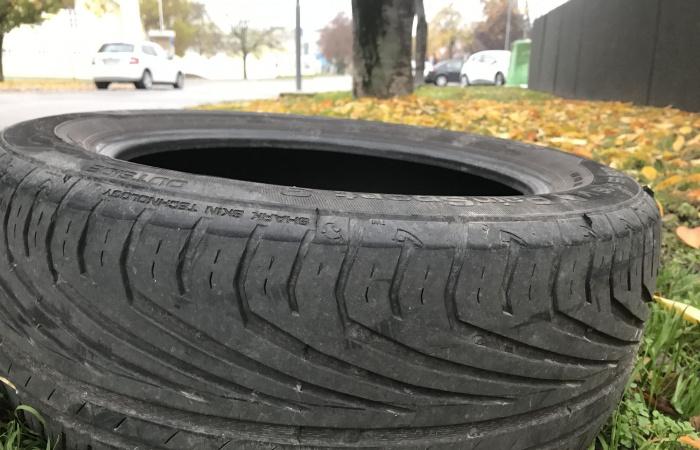 Chráňme životné prostredie, nevyhadzujme opotrebované pneumatiky