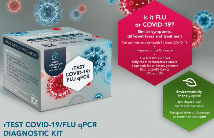 ŠÚKL zaregistroval slovenský test na rozlíšenie COVID-19 a chrípky