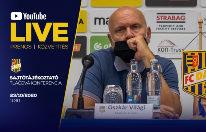 Pozrite si tlačovú konferenciu majiteľa klubu!