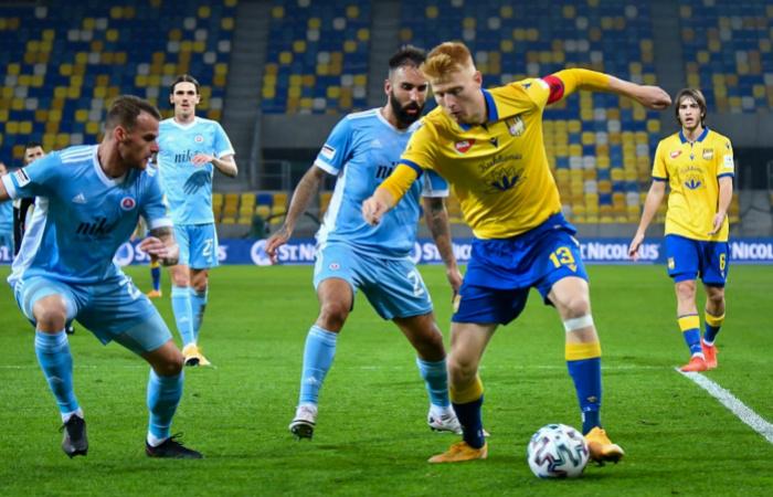 DAC - Slovan 1:1 (1:1)