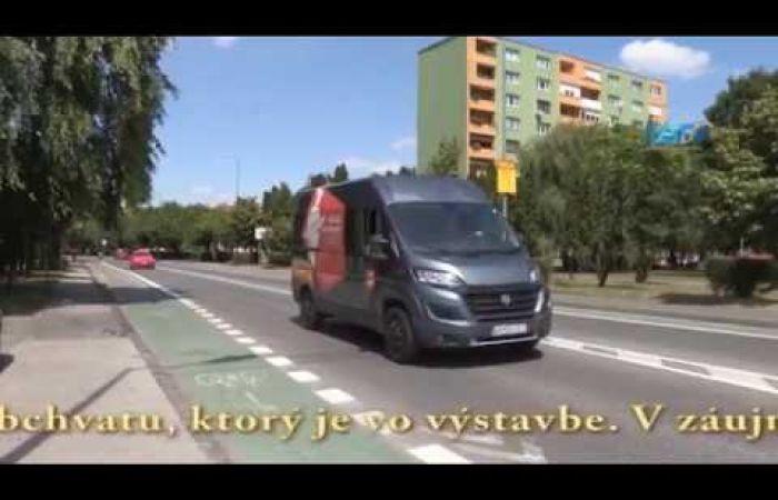 Embedded thumbnail for Dopravný systém Dunajskej Stredy sa rozšíri o obchvat a cyklistický pruh