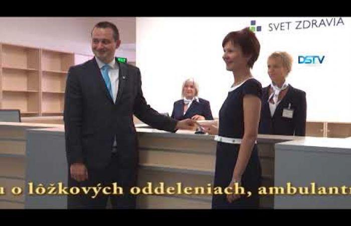 Embedded thumbnail for Slávnostne predstavili novú recepciu nemocnice