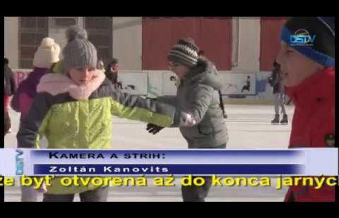 Embedded thumbnail for Umelá ľadová plocha je otvorená od 7. decembra