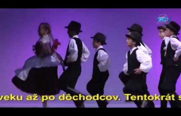 Embedded thumbnail for Ľudový tanec detských súborov po tretíkrát
