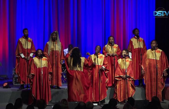 Embedded thumbnail for Zlaté hlasy gospelu vytvorili novoročnú atmosféru v našom meste