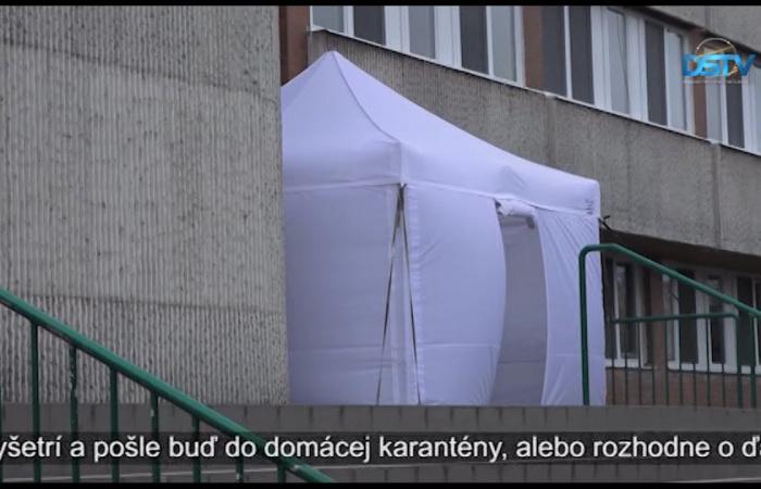 Embedded thumbnail for V nemocnici sa vedia postarať o pacientov ochorenia COVID-19