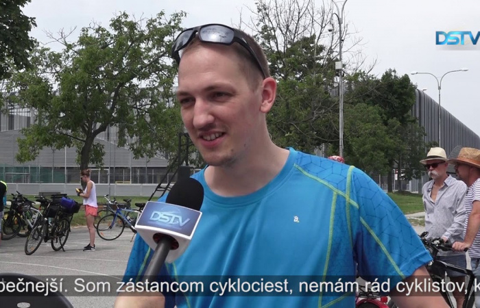 Embedded thumbnail for Cyklistický deň a súťaž Do práce na bicykli