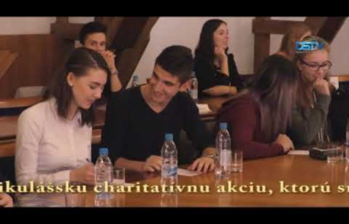 Embedded thumbnail for Študentský parlament zvolil ôsmeho študentského primátora