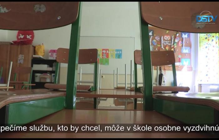 Embedded thumbnail for Mimoriadna situácia prináša zmeny aj na úseku zápisov