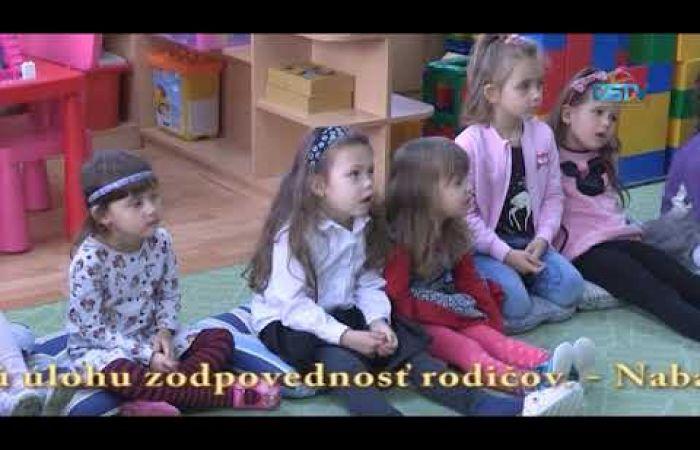 Embedded thumbnail for Do programu Žiarivý úsmev našich detí sa zapojilo deväť MŠ