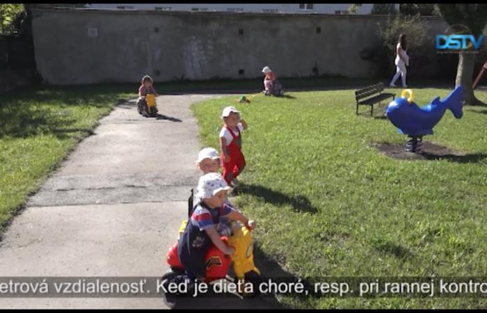 Embedded thumbnail for Prísne epidemiologické opatrenia v materských školách a jasliach