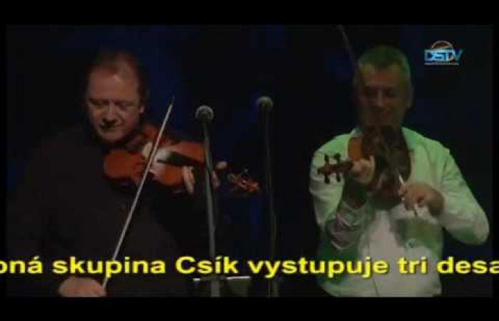 Embedded thumbnail for Hudobná skupina Csík oslávila 30. jubileum založenia koncertom