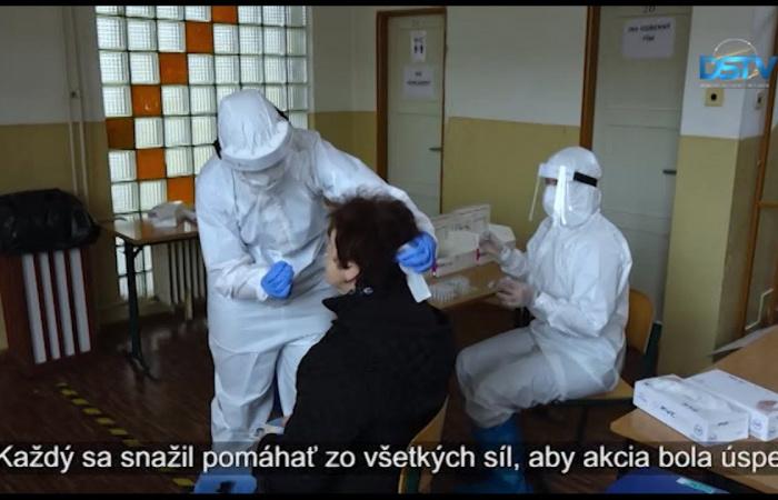 Embedded thumbnail for V okrese Dunajská Streda sa testy vykonávajú ešte raz