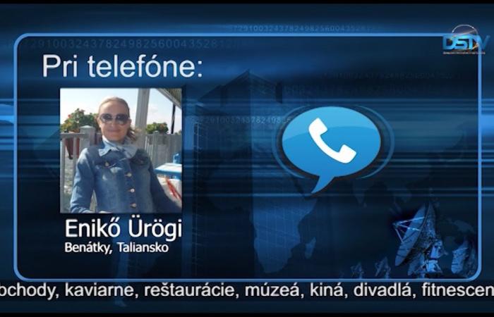 Embedded thumbnail for Našu televíziu o dianí v Taliansku informovala bývalá Dunajskostredčanka