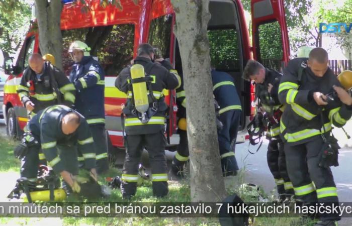 Embedded thumbnail for Na ZŠ Ármina Vámbéryho sa konalo požiarne cvičenie
