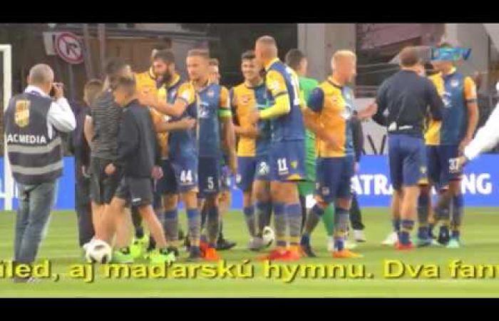 Embedded thumbnail for Žlto-modré a zeleno-biele futbalové priateľstvo