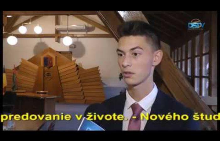 Embedded thumbnail for Mládežnícky parlament si zvolil deviateho študentského primátora