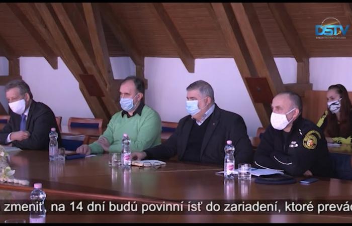 Embedded thumbnail for Zasadal dunajskostredský krízový štáb