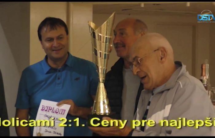 Embedded thumbnail for Finále okresných futbalových majstrovstiev starých pánov pod umelým osvetlením