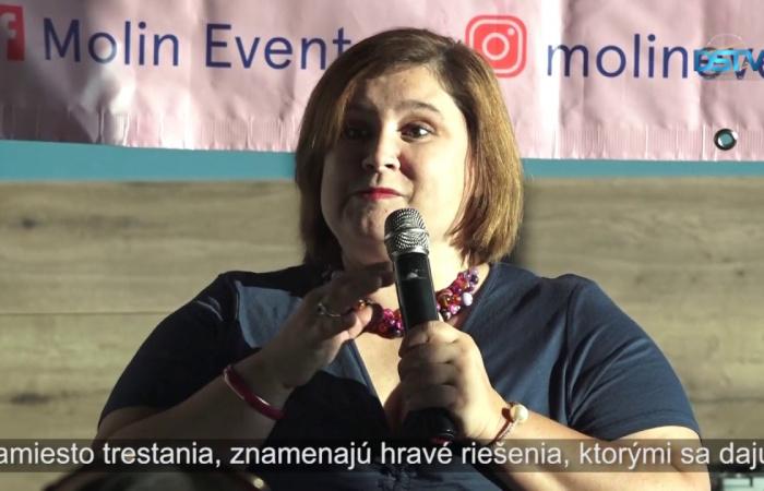 Embedded thumbnail for Psychologička prednášala o pozitívnej detskej výchove