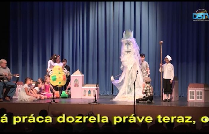 Embedded thumbnail for Bábkový festival Pestrý motýľ trinástykrát v Mestskom kultúrnom stredisku