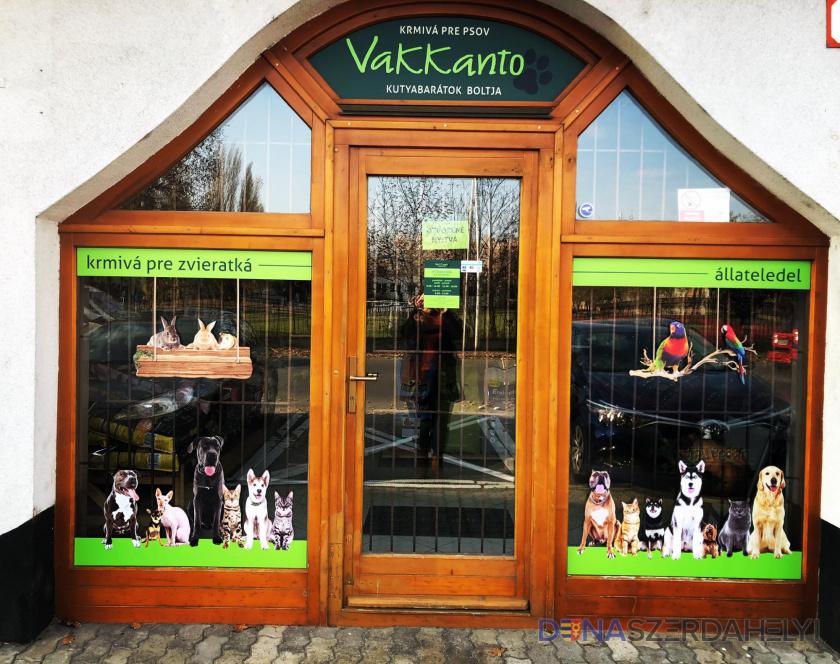 """""""Vakkantó"""" – predajňa milovníkov psov"""