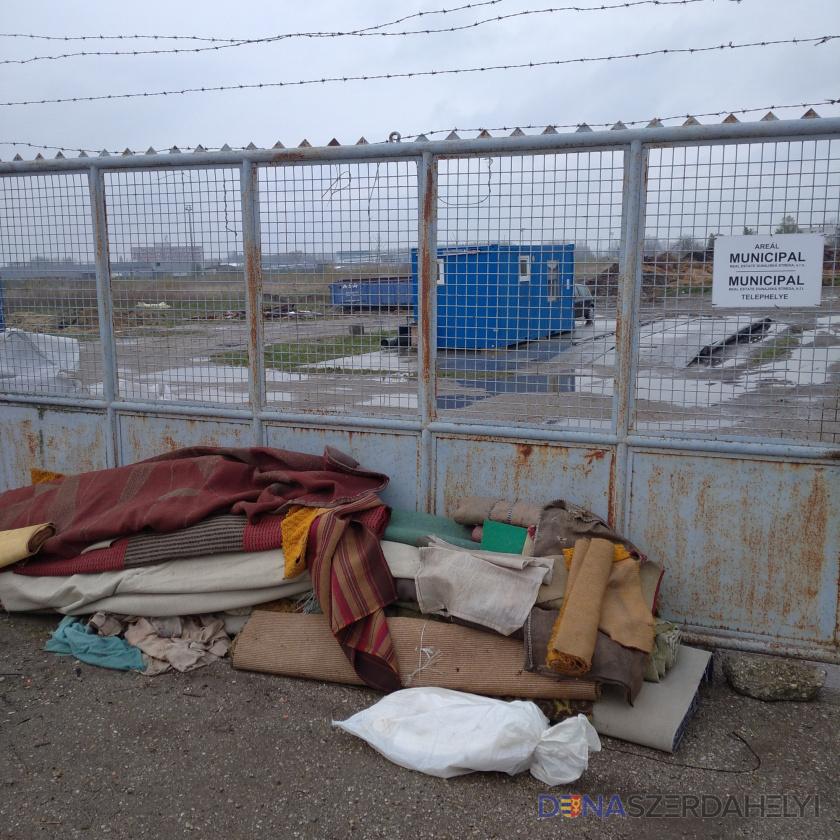 Odpad na zberný dvor, nie k bráne