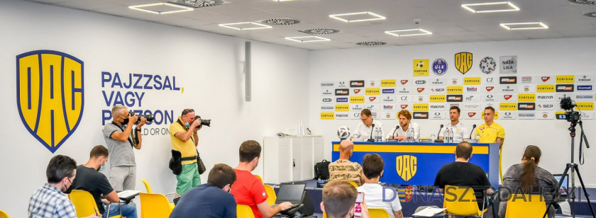 Tlačová konferencia DAC-u pred štartom sezóny 2021/22