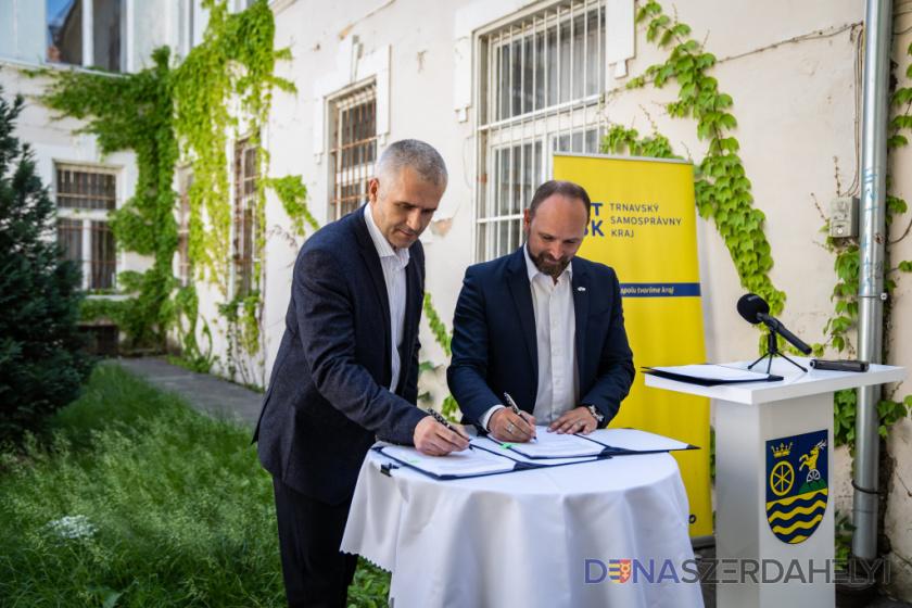 TTSK: Župa podpísala zmluvu na rekonštrukciu Hlavnej 17, kde vznikne Kreatívne centrum Trnava