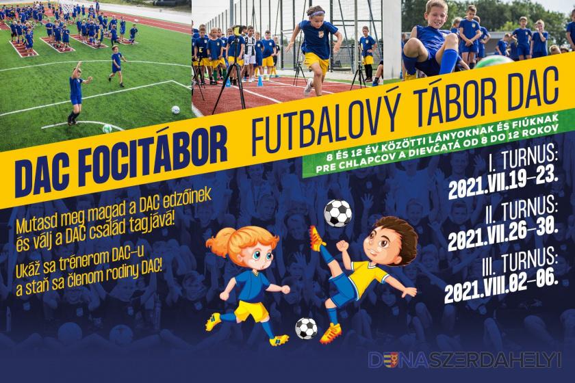 Futbalový tábor DAC - aj v roku 2021!