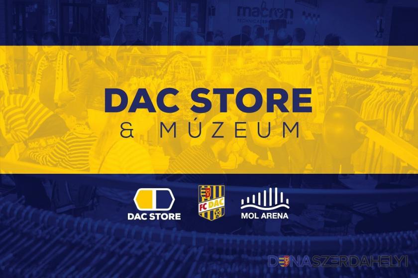 DAC store zostáva zatvorený, webshop nonstop funguje
