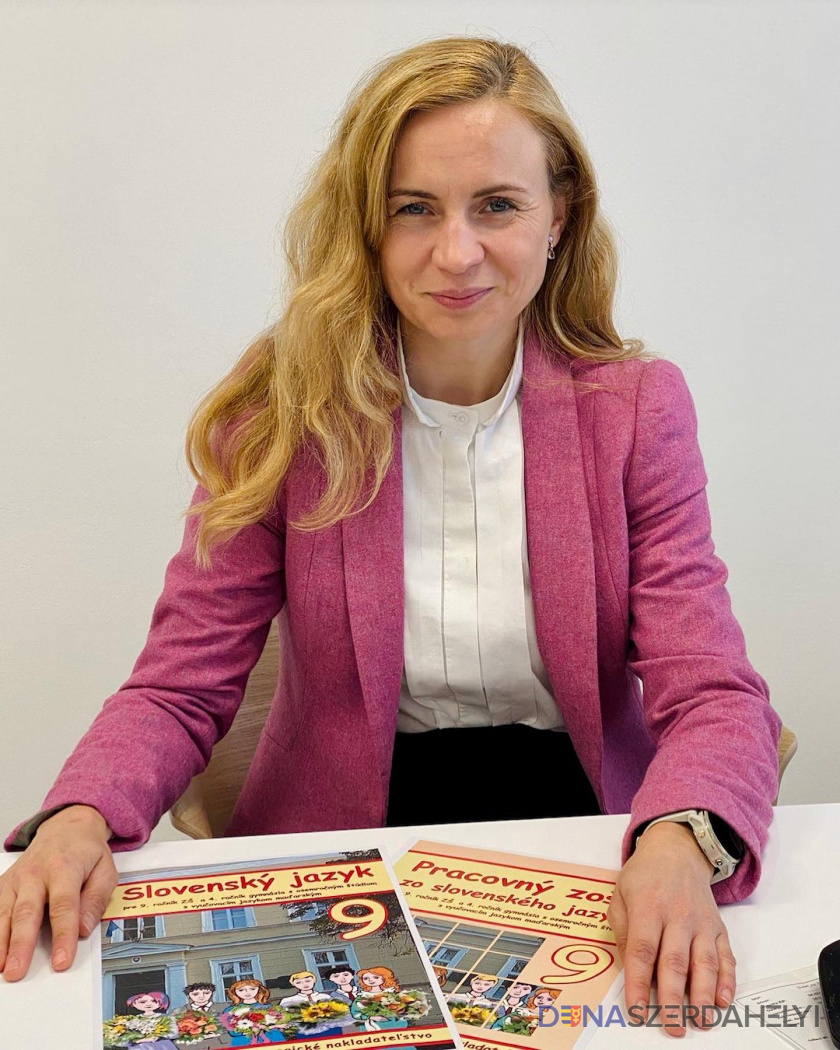 Nová učebnica slovenského jazyka pre 9. ročník základných škôl s VJM