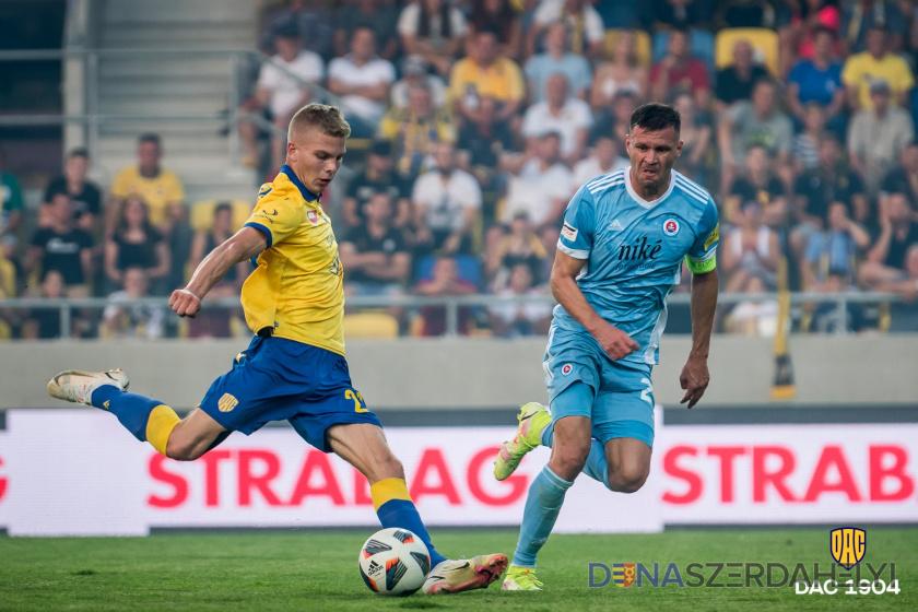 Reportáž: DAC - Slovan 1:1 (0:0)