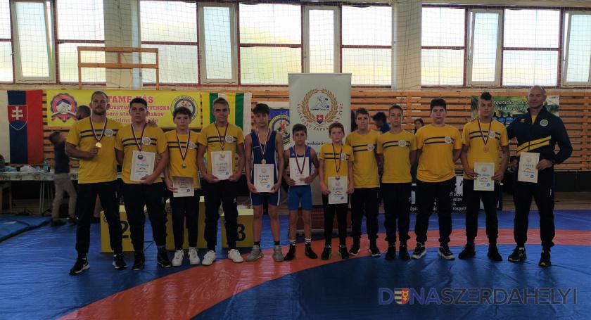 Majstrovstvá Slovenska starších žiakov v zápasení gréckorímskym štýlom - Fiľakovo