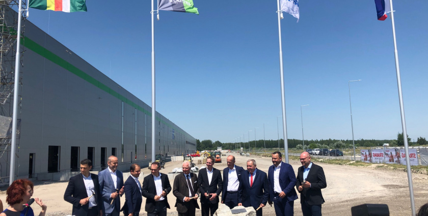 GO ASSET buduje nové logistické centrum pre Ingram Micro